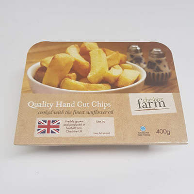Quality Hand cut chips, Cheshire Farm Chips