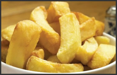 Cheshire farm chips bowl of chips