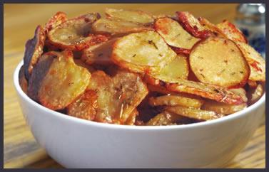 Cheshire Farm chips sliced potatoes