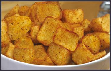 Cheshire Farm Chips spicy potato bites
