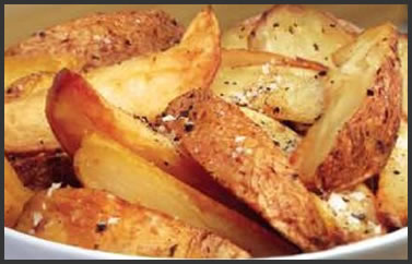 Cheshire farm chips potato wedges
