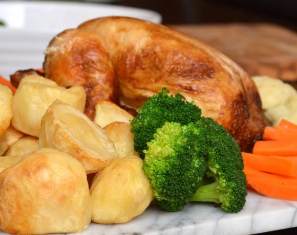 Traditional British Roast Dinner