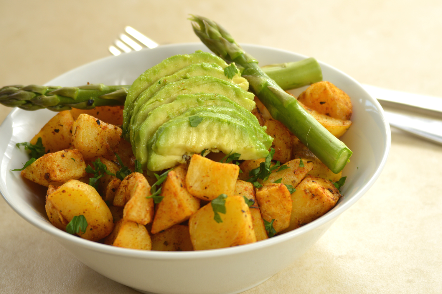 Cheshire farm chips spicy bites with avocado meal ideas