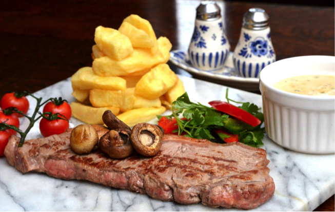 Steak with Cheshire Farm Chips meal ideas